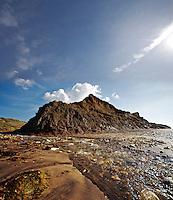 Brook Bay, Isle of Wight, UK
