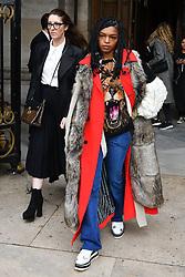 Selah Marley attends the Stella McCartney show as part of the Paris Fashion Week Womenswear Fall/Winter 2018/2019 on March 5, 2018 at Opera Garnier in Paris, France. Photo by Laurent Zabulon/ABACAPRESS.COM
