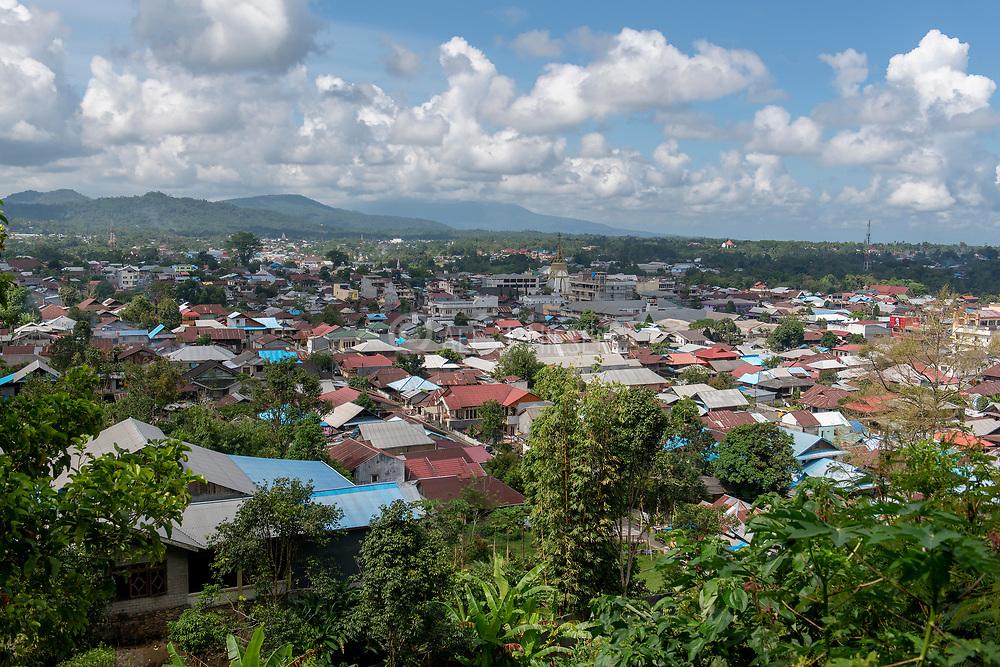 Tomohon city, Minahasa region, northern Sulawesi, Indonesia.