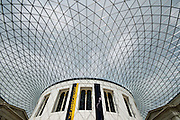 The Reading Room stands at the heart of the Museum, in the centre of the Great Court.<br /> The British Museum