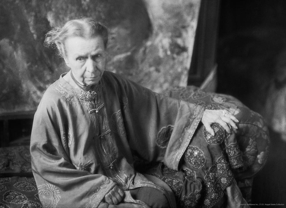 Annie Louisa Swynnerton, painter and suffragette, 1929