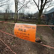 Dierenweide Huizen afgesloten voor publiek ivm mond en klauwzeer