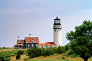 Highland Lighthouse on a sunny day, Wellfleet, Massachusetts