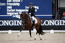 Damgaard Kenneth, DEN, Hoejgaardens Santos<br /> Longines FEI/WBFSH World Breeding Dressage Championships for Young Horses - Ermelo 2017<br /> © Hippo Foto - Dirk Caremans<br /> 03/08/2017