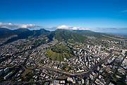 Punchbowl, National memorial Cemetary of the Pacific,Honolulu Oahu, Hawaii