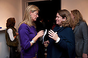 FUSCA CRESSWELL-TURNER; CLAUDIA HOLLOWAY. Relics of the Mind.- Private view of work by Katharine Dowson. GV Art, 49 Chiltern st. London. W1. 16 September 2010. -DO NOT ARCHIVE-© Copyright Photograph by Dafydd Jones. 248 Clapham Rd. London SW9 0PZ. Tel 0207 820 0771. www.dafjones.com.