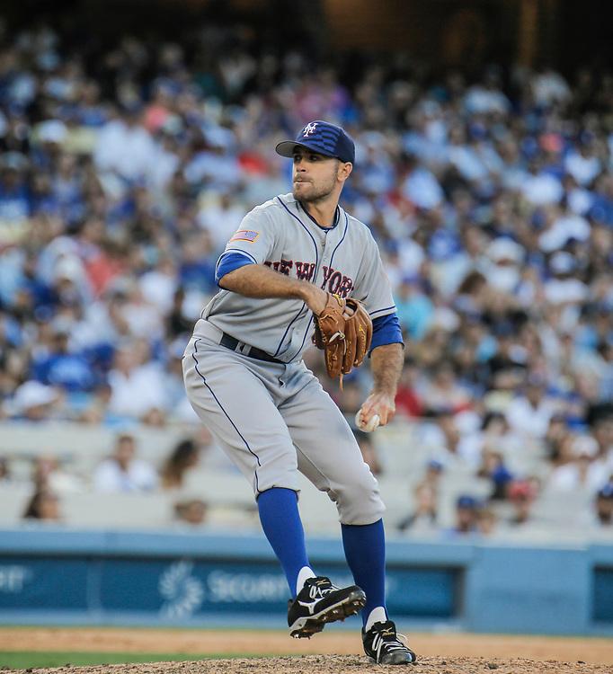 July 04 2015 - Los Angeles U.S. CA - NY Mets  during MLB game between LA Dodgers and  NY Mets at Dodgers Stadium Los Angeles Calif. Thurman James / CSM