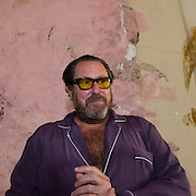 """Julian Schnabel during the press preview of Julian Schnabel - """"Permanently Becoming And The Architecture Of Seeing"""" part of 54th International Art Biennale in Venice"""