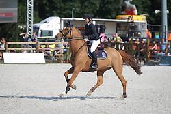 Liebherr Christina (SUI) - LB Callas Sitte Z<br /> Grand Prix de L'Hippodrome De Wallonie-Mons<br /> CSI4* Mons 2013<br /> © Hippo Foto - Counet Julien