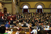 Governor David A. Patterson at the Swearing-in of the Honorable David A. Patterson at the 55th Governor of New York  at The New York State Capitol in the Assembly Chambers on March 17, 2008