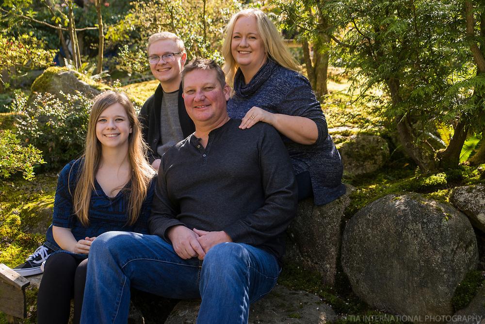 Family Portrait, Arboretum, Seattle
