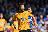 Cambridge United Defender, Jake Carroll (19) during the EFL Sky Bet League 2 match between Portsmouth and Cambridge United at Fratton Park, Portsmouth, England on 22 April 2017. Photo by Adam Rivers.