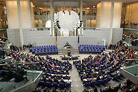 23 MAY 2004, BERLIN/GERMANY:<br /> Uebersicht des Plenarsaales, waehrend der Rede von Horst Koehler, nach seiner Wahl, Sitzung der Bundesversammlung anlässlich der Wahl des Bundespraesidenten, Deutscher Bundestag<br /> IMAGE: 20040523-01-068<br /> KEYWORDS: Bundespräsident, Plenum, Übersicht