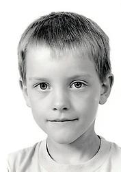 Portrait of a small boy UK 1990s MR