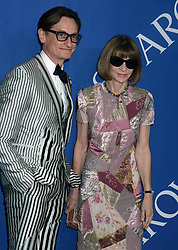 Hamish Bowles and Anna Wintour at the 2018 CFDA Awards at the Brooklyn Museum in New York City, NY, USA on June 4, 2018. Photo by Dennis Van Tine/ABACAPRESS.COM