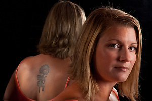 Allison, Tattoo + You, A Photo Story of Body Ink