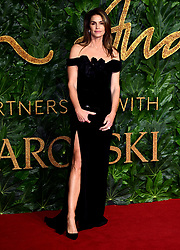 Cindy Crawford attending the Fashion Awards in association with Swarovski held at the Royal Albert Hall, Kensington Gore, London.
