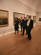Rt hon Tony Blair MP, Cherie Blair, Chancellor Gerhard Schroder and Norman Rosenthall  open Masterpieces from Dresden at the Royal Academy, London. 12 March 2003. © Copyright Photograph by Dafydd Jones 66 Stockwell Park Rd. London SW9 0DA Tel 020 7733 0108 www.dafjones.com