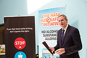 Repro free:  No Alcoholic Substances Allowed!<br /> <br /> Deputy Sean Kyne,<br /> This is the message and purpose of the NASA Bus Safety Initiative, which was launched in County Galway last Friday, the 8th of September in Coláiste Bhaile Chláir, Claregalway.<br /> Underage drinking, both before, and on the way to, junior discos and events, has become an increasing problem for parents, for bus operators, for An Garda Síochána and other public bodies such as our paramedic, ambulance and hospital services.<br /> On many occasions in recent years, we have seen undesirable outcomes and scenarios when young people have placed themselves and others at personal risk due to alcohol consumption. <br /> To try to alleviate this problem, and in response to the growing concern amongst professionals, parents and even young people themselves, the NASA (No Alcoholic Substances Allowed) Bus Safety Initiative has been developed. Its aim is to highlight and promote young people's safety when using private hire buses for travelling to and from events. <br /> The NASA Bus Safety Initiative has been developed by an inter-agency group consisting of representatives from the HSE, An Garda Síochána, the WRDATF (Western Region Drugs Alcohol Taskforce) and the Road Safety Authority (RSA)  Photo:Andrew Downes, xposure