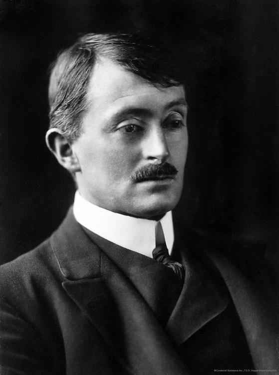 John Masefield, Writer and Poet, 1912