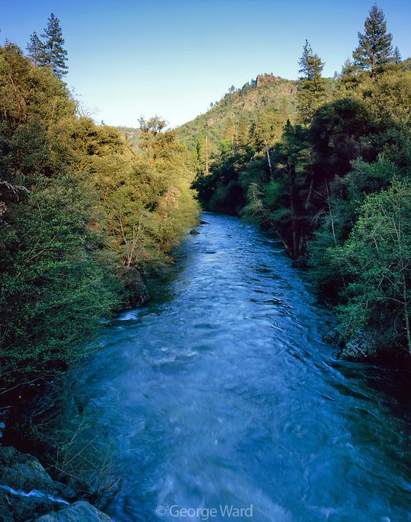 Deer Creek In Spring,Ishi Wilderness,Lassen National Forest, California