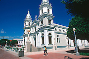PUERTO RICO, PONCE second largest city on the island, with the Cathedral on the main plaza
