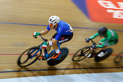 Men Scratch Race, Elia Viviani (Italy), during the UEC Track Cycling European Championships Glasgow 2018, at Sir Chris Hoy Velodrome, in Glasgow, Great Britain, Day 2, on August 3, 2018 - Photo Luca Bettini / BettiniPhoto / ProSportsImages / DPPI - Belgium out, Spain out, Italy out, Netherlands out -