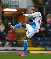 Blackburn Rovers' Tosin Adarabioyo<br /> <br /> Photographer Dave Howarth/CameraSport<br /> <br /> The EFL Sky Bet Championship - Blackburn Rovers v Hull City - Tuesday 11th February 2020 - Ewood Park - Blackburn<br /> <br /> World Copyright © 2020 CameraSport. All rights reserved. 43 Linden Ave. Countesthorpe. Leicester. England. LE8 5PG - Tel: +44 (0) 116 277 4147 - admin@camerasport.com - www.camerasport.com