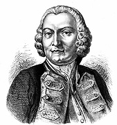 George Anson, Baron Anson (1697-1762) English naval commander. In command of Pacific squadron he circumnavigated globe from September 1740 to June 1774. First Lord of the Admiralty 1751. Engraving