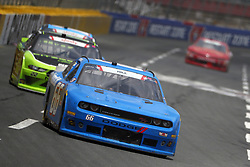 May 26, 2018 - Concord, North Carolina, United States of America - Timmy Hill (66) brings his race car down the front stretch during the Alsco 300 at Charlotte Motor Speedway in Concord, North Carolina. (Credit Image: © Chris Owens Asp Inc/ASP via ZUMA Wire)