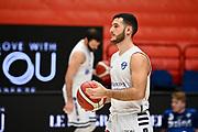 Marco Spissu <br /> A X Armani Exchange Olimpia Milano - Banco di Sardegna Dinamo Sassari <br /> Basket Serie A LBA 2020/2021<br /> Milano 20 December 2020<br /> Foto Mattia Ozbot / Ciamillo-Castoria