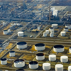 This month, Valero Energy, the nation's largest refiner, shut down its plant in Delaware City, Del., which could process 210,000 barrels of oil a day. <br /> Julia Robertson/Associated Press