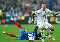 Ragnar Sigurdsson (Iceland) and Moussa Sissoko (France)<br /> Paris 03-07-2016 Stade de France Football Euro2016 France - Iceland / Francia - Islanda Quarter finals <br /> Foto Matteo Ciambelli / Insidefoto