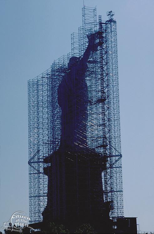 Statue Of Liberty Renovation, 1984, New York