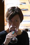 britt karlsson tasting domaine alain voge cornas rhone france