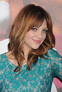 """WESTWOOD, CA - APRIL 28: Abby Elliott  arrives at the premiere of Universal Pictures' """"Bridesmaids"""" held at Mann Village Theatre on April 28, 2011 in Los Angeles, California."""