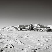 Norwegian coal mining settlement of Svea