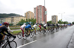 Peloton in Celje at 3rd stage of Tour de Slovenie 2009 from Lenart to Krvavec, 175 km, on June 20 2009, Slovenia. (Photo by Vid Ponikvar / Sportida)