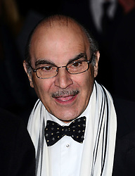 David Suchet arriving at the London Evening Standard Theatre Awards in London, Sunday, 17th November 2013. Picture by Nils Jorgensen / i-Images