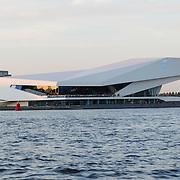 NLD/Amsterdam/20120812 - Varen door de Amsterdamse grachten, Filmmuseum Eye