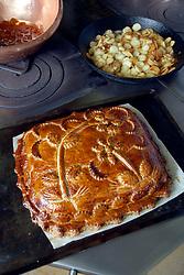 Collonges au Mont d'Or (69). Recette de Paul Bocuse. Oreiller ou coussin de la belle Aurore High cuisine chef Paul Bose died at 91 it was announced on Saturday. Photo by Soudan/ANDBZ/ABACAPRESS.COM