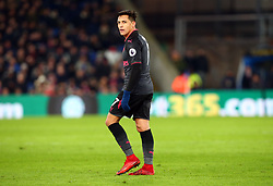 December 28, 2017 - London, England, United Kingdom - Arsenal's Alexis Sanchez during Premier League  match between Crystal Palace and Arsenal at Selhurst Park Stadium, London,  England 28 Dec 2017. (Credit Image: © Kieran Galvin/NurPhoto via ZUMA Press)
