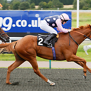Somethingaboutmary and Julie Burke winning the 2.10 race