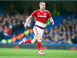 May 8, 2017 - London, England, United Kingdom - Adam Forshaw of Middlesbrough during Premier League match between Chelsea and Middlesbrough at Stamford Bridge, London, England on 08 May 2017. (Credit Image: © Kieran Galvin/NurPhoto via ZUMA Press)
