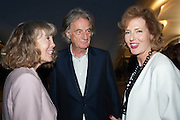 SIR PAUL AND LADY SMITH; JULIA PEYTON-JONES, VIP opening  of the new Serpentine Sackler Gallery designed by Zaha Hadid . Kensinton Gdns. London. 25 September 2013