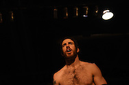 """Wrestler Chuck O'Neil enters the rind at the Beyond Wrestling Organization's """"Dream Left Behind"""" event, held at the Center for Arts at the Armory in Somerville, Sunday, Jan. 31, 2016."""