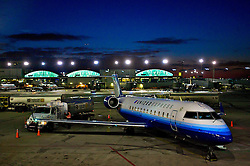 Desembarque no aeroporto internacional de O'Hare, em Chicago. FOTO: Jefferson Bernardes/Preview.com