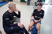 Iris Slappendel praat met Aniek Rooderkerken. Het Human Power Team Delft en Amsterdam, dat bestaat uit studenten van de TU Delft en de VU Amsterdam, is in Amerika om tijdens de World Human Powered Speed Challenge in Nevada een poging te doen het wereldrecord snelfietsen voor vrouwen te verbreken met de VeloX 7, een gestroomlijnde ligfiets. Het record is met 121,81 km/h sinds 2010 in handen van de Francaise Barbara Buatois. De Canadees Todd Reichert is de snelste man met 144,17 km/h sinds 2016.<br /> <br /> With the VeloX 7, a special recumbent bike, the Human Power Team Delft and Amsterdam, consisting of students of the TU Delft and the VU Amsterdam, wants to set a new woman's world record cycling in September at the World Human Powered Speed Challenge in Nevada. The current speed record is 121,81 km/h, set in 2010 by Barbara Buatois. The fastest man is Todd Reichert with 144,17 km/h.