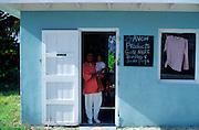 Small local shop, Cayman Brac, Cayman Islands, British West Indies,