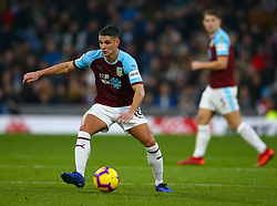 Burnley's Ashley Westwood during the Premier League match at Turf Moor, Burnley